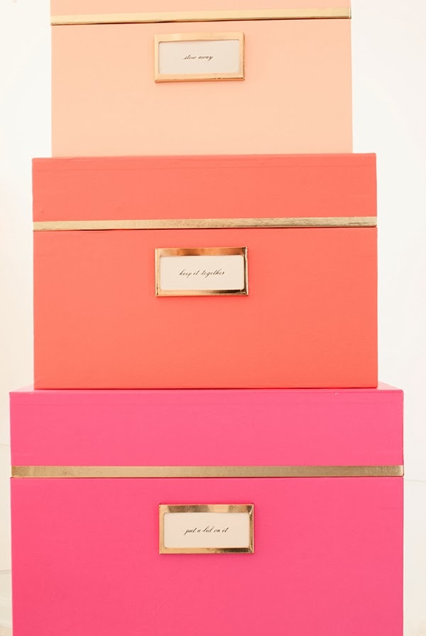 Neon Kate Spade New York Nesting Boxes Cuckoo4design