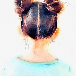 DIY Top Knot Print