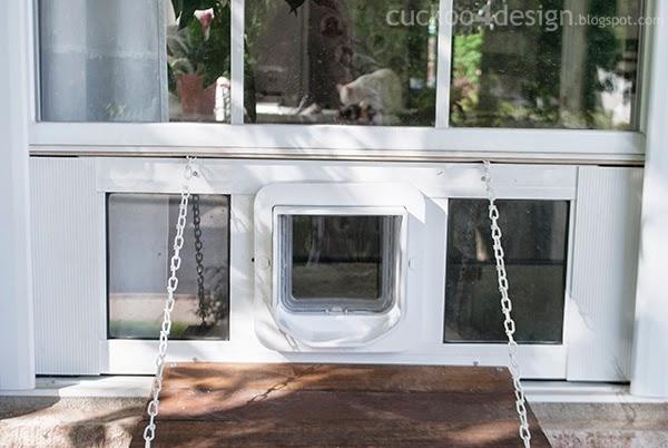 electronic pet door for sash windows 2