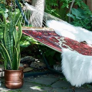 outdoor hammock retreat
