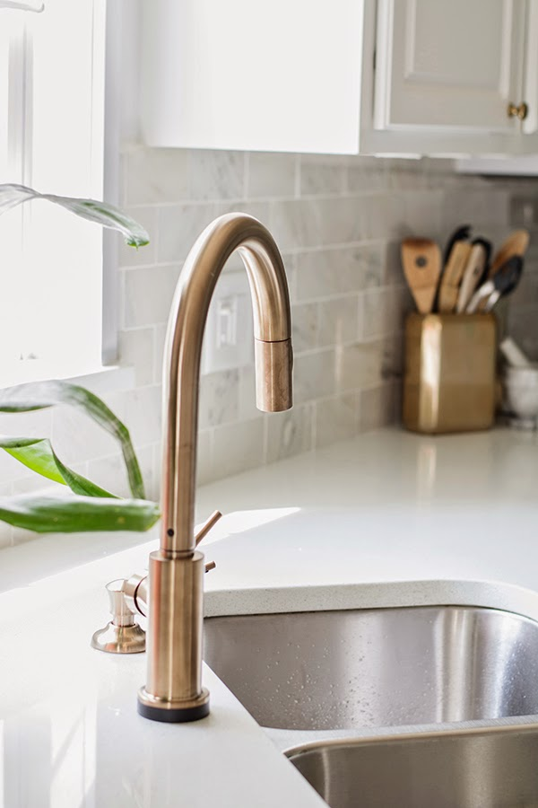 Our Shiny New Faucet Cuckoo4design