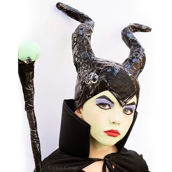 makeup for diy maleficent costume