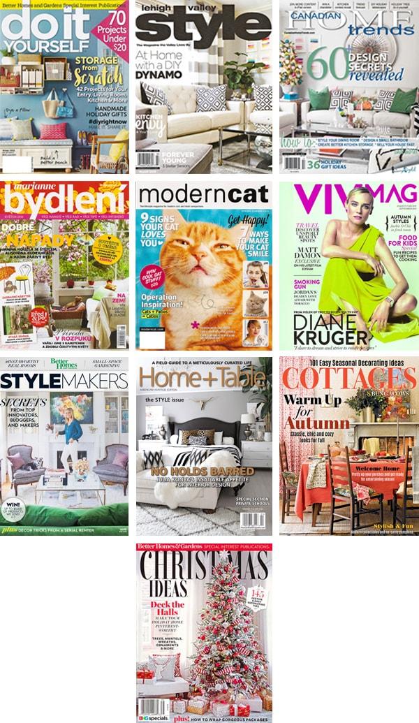 magazine features Cuckoo4Design