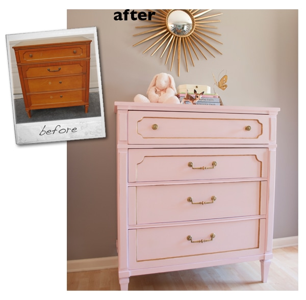 diy chalk paint calcium carbonate dresser makeover
