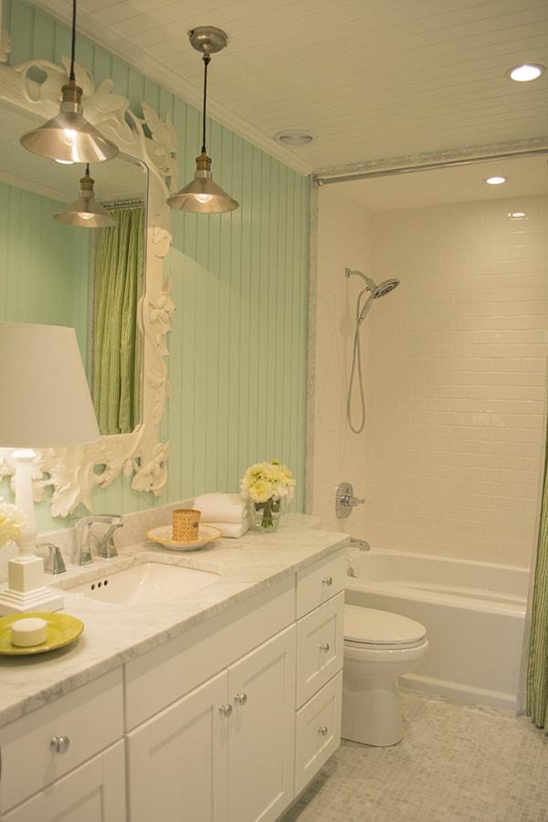 bathroom in the 2015 HGTV dream home on Martha's Vineyard - Cuckoo4Design