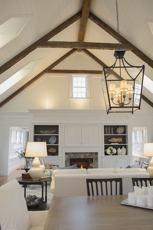 amazing ceiling in the 2015 HGTV dream home on Martha's Vineyard - Cuckoo4Design