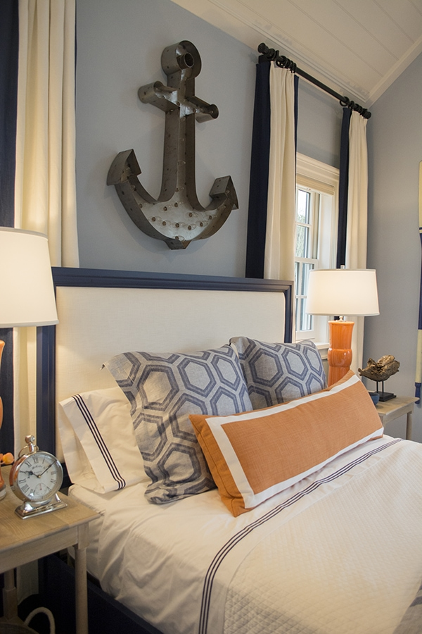 boys room in the 2015 HGTV dream home on Martha's Vineyard - Cuckoo4Design