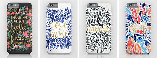 Cat Coquillette iPhone cases