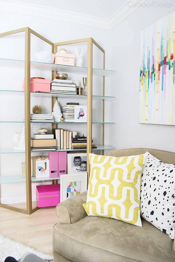 bookshelf styling - Cuckoo4Design