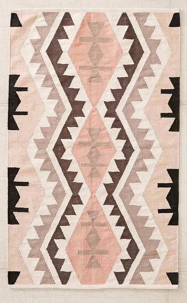 pastel Killim rug