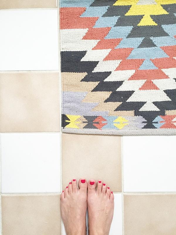 Urban Outfitter Killim rug