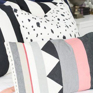 DIY Killim painted pillows - Cuckoo4Design