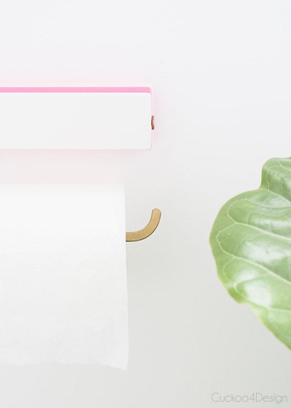 Revamped Ikea toiletpaper holder - Cuckoo4Design