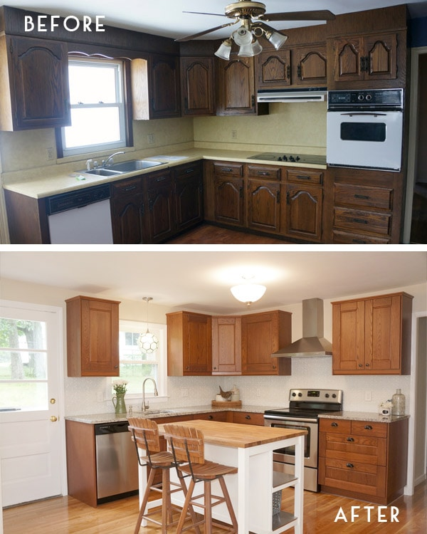 kitchen flip - before and after-2