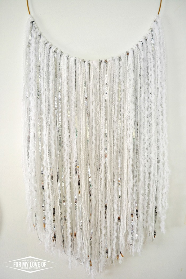 Moroccan Wedding Blanked-Inspired Wall Hanging
