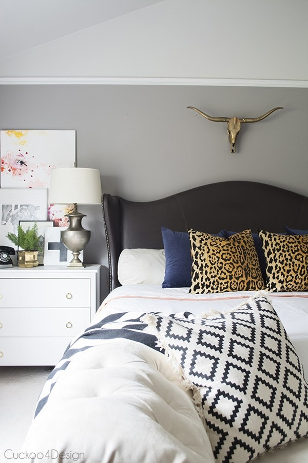 eclectic bedroom update - Cuckoo4Design