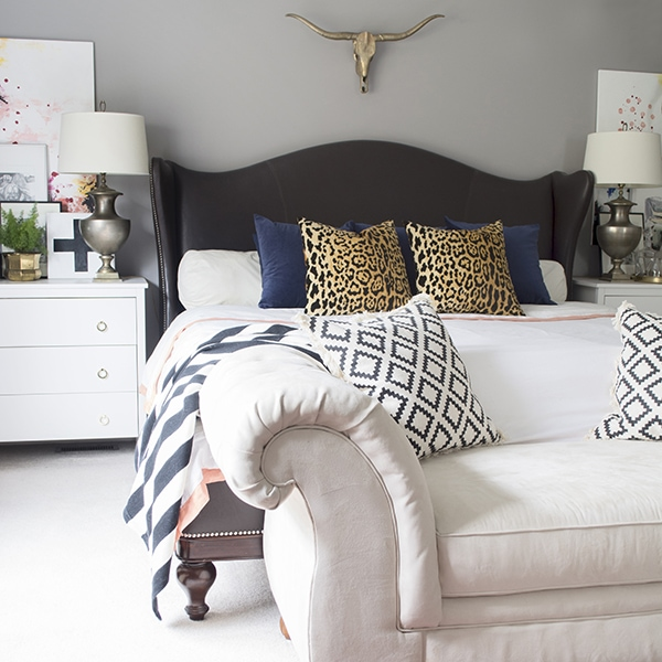 eclectic bedroom - Cuckoo4Design