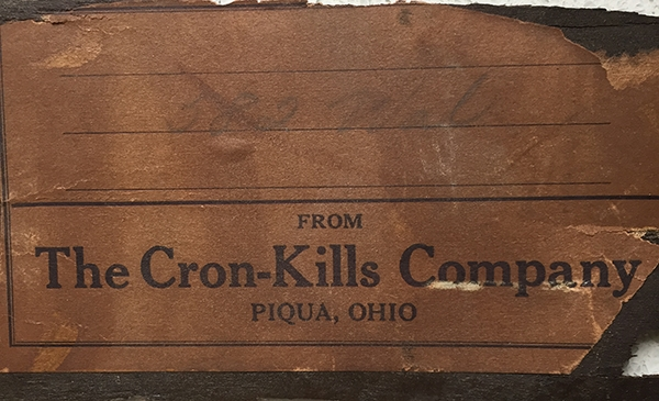 The Cron Kills Company Secretary Desk