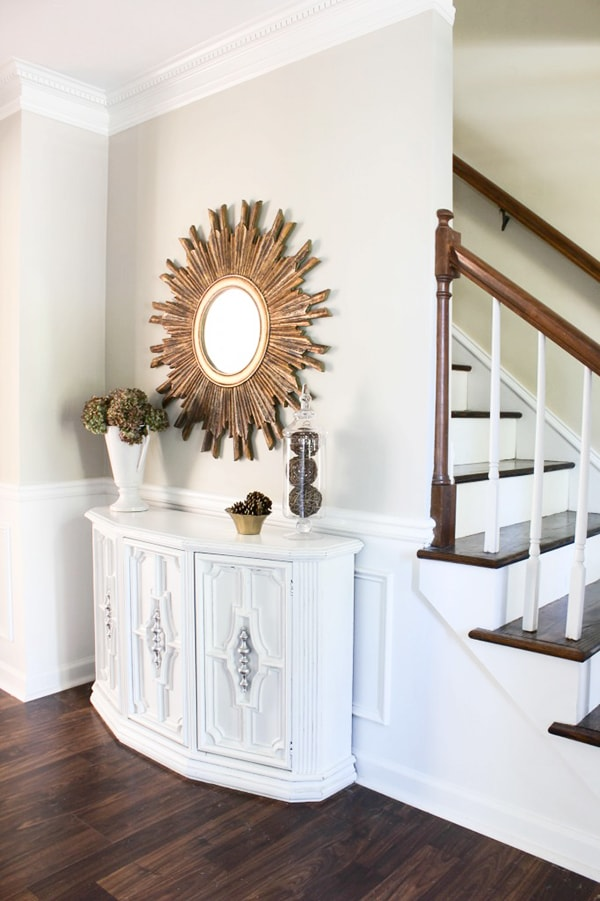 Console Turned Buffet Table