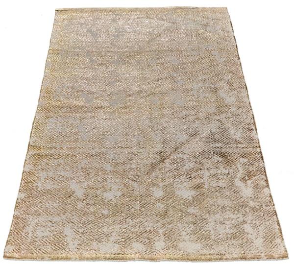 metallic area rug