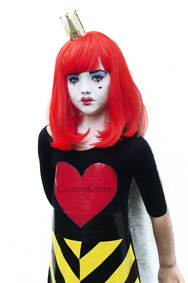 Cheap And Easy Queen Of Hearts Costume Cuckoo4design