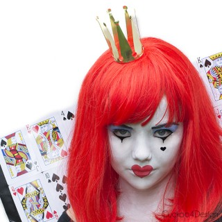 Easy Queen of hearts costume - Cuckoo4Design