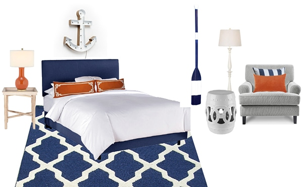 dream home look for less boy's bedroom - Cuckoo4Design