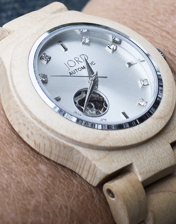 maple wood JORD watch - Cuckoo4Design