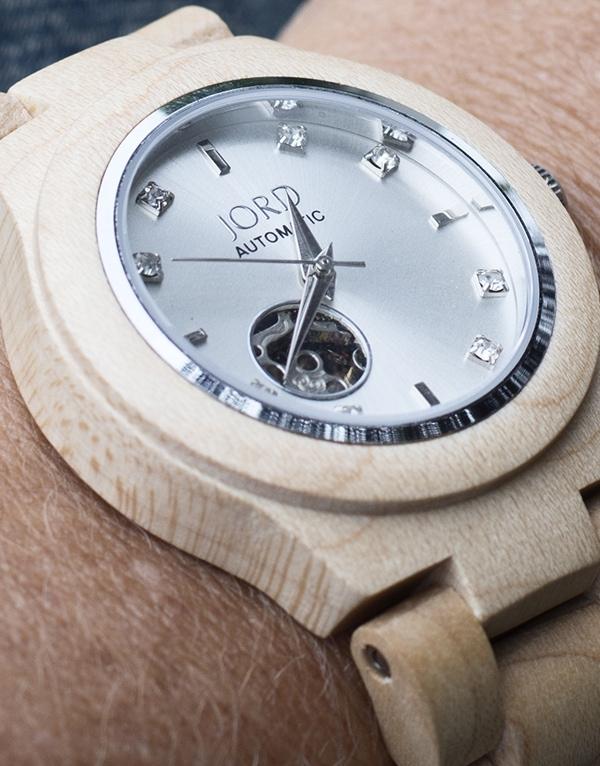 maple wood  JORD watch - Cuckoo4Design