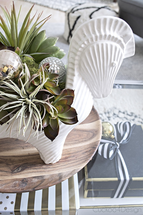 Jonathan Adler Horse Bowl Christmas Decoration