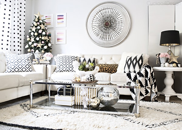 Christmas living room - Cuckoo4Design