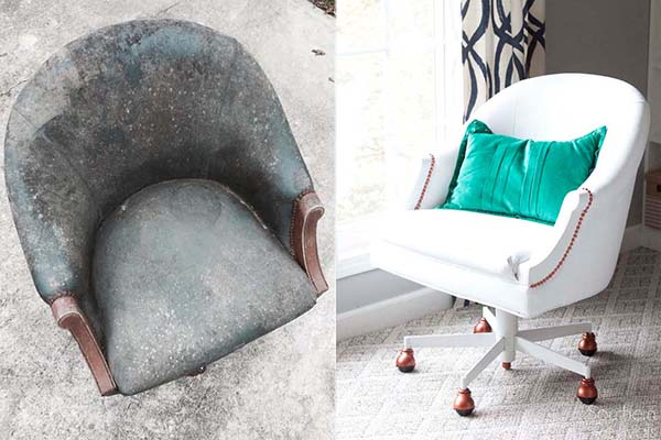 Painted-Pleather-Chair-Before-After