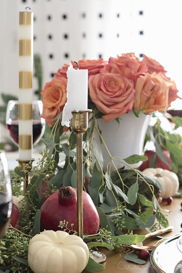 Fall or Thanksgiving Tablescape