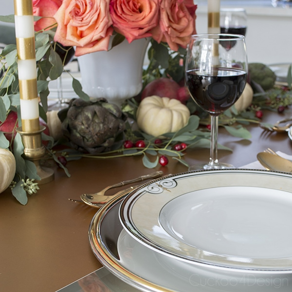 Thanksgiving Table Setting - Cuckoo4Design