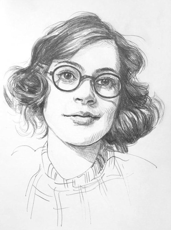 custom pencil sketch