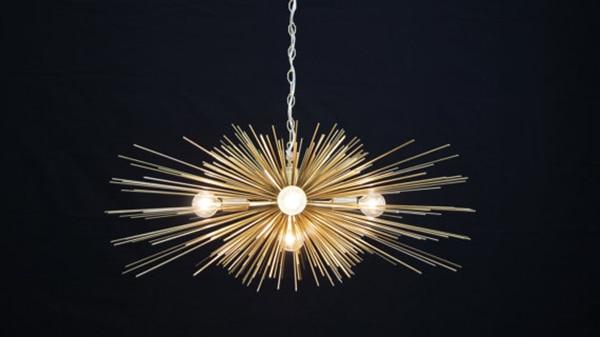 gold_urchin_chandelier