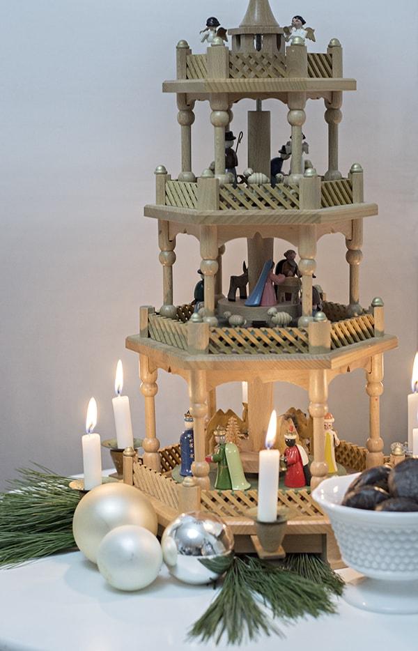 Large German Christmas Pyramid