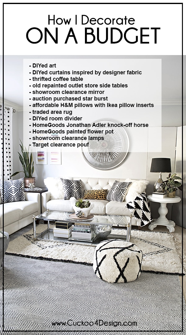 How to decorate on a budget - How to decorate a house on a budget ...