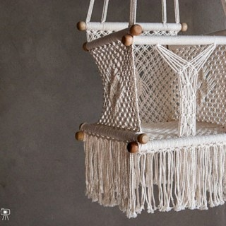 Favorite etsy shops cuckoo4design for Diy macrame baby swing