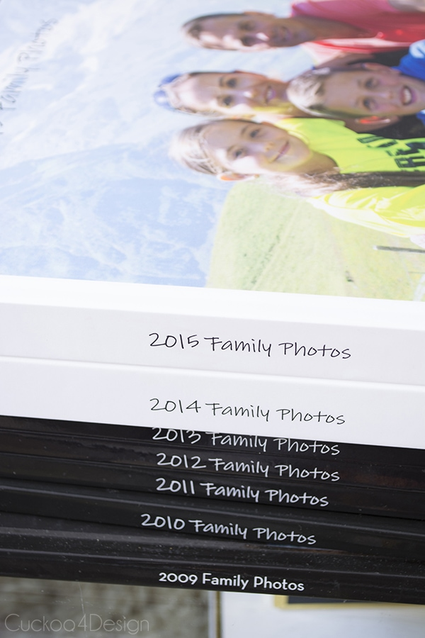 How to make an annual family phonebook - Cuckoo4Design