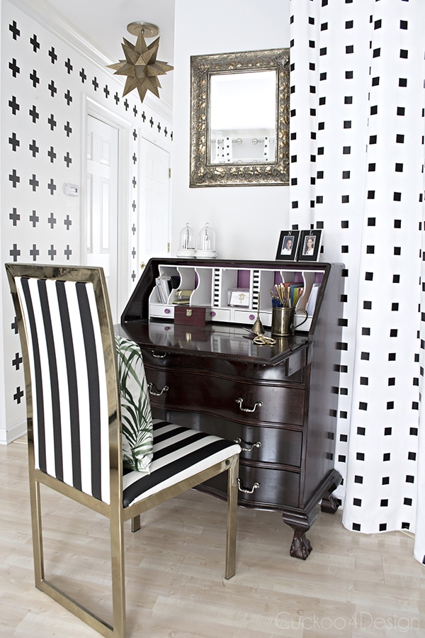 black_and_white_brass_chair_makeover-cuckoo4design_9