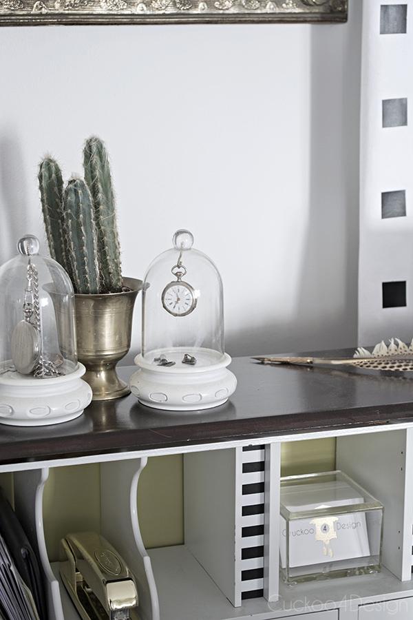Queen Anne Secretary Desk Makeover - Cuckoo4Design