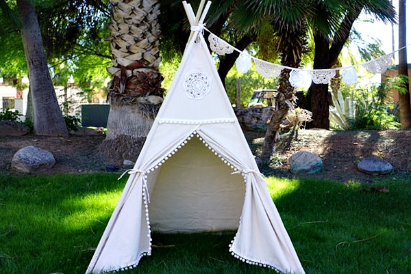 custom kids teepee
