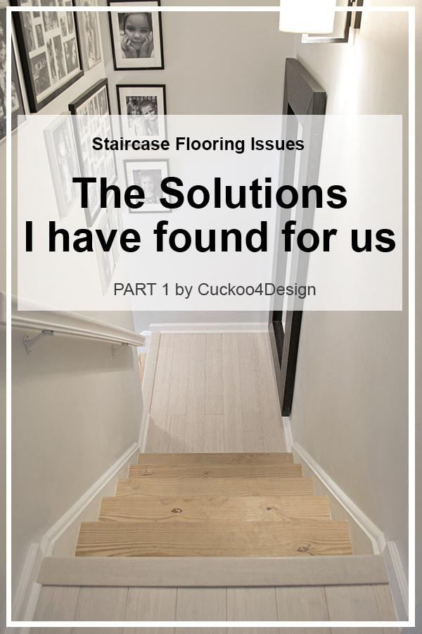how to solve flooring issues on stairs