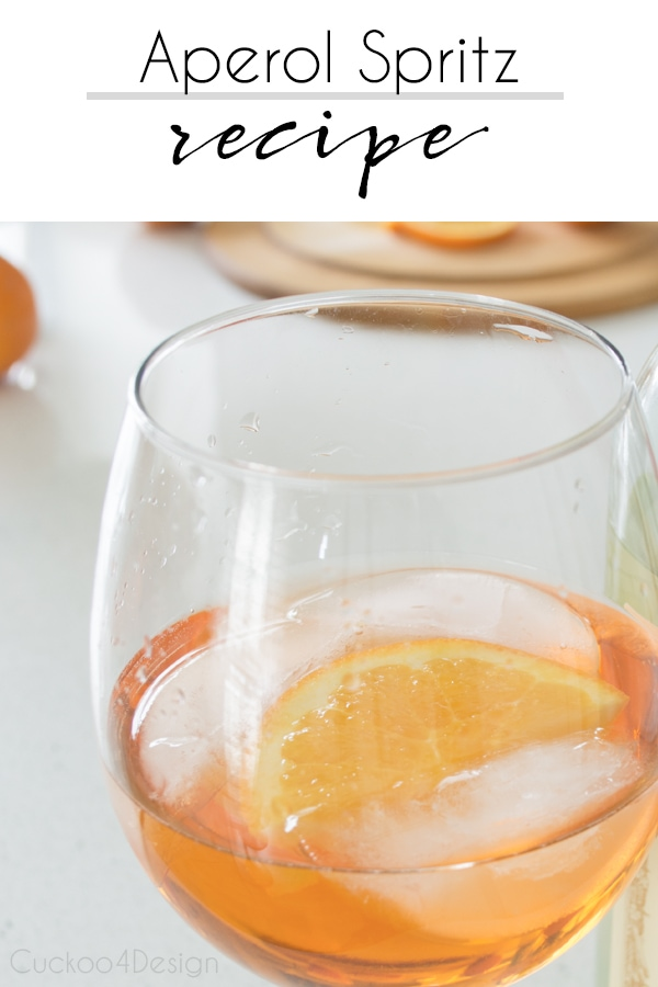 Aperol Spritz recipe which is my favorite summer drink | summer drinks | alcoholic beverages for summer | light spray bitter drink | #aperol #aperolspritz