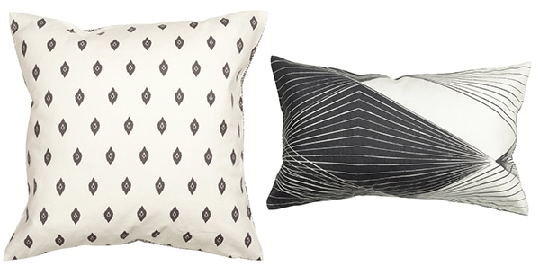 stylish budget pillows