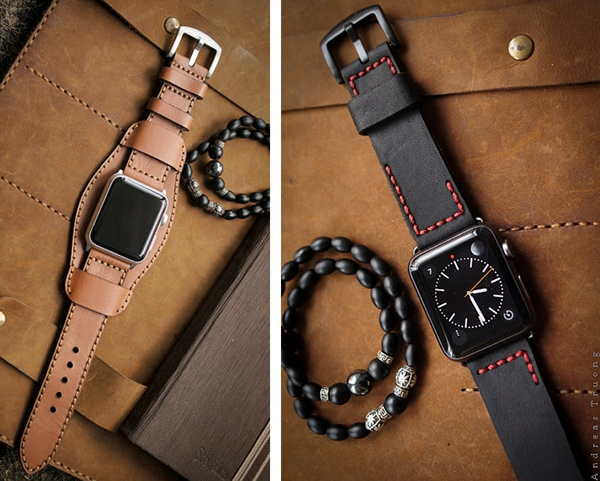 custom Apple watch leather bands