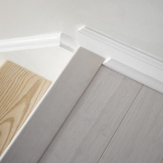 How to refinish carpeted stairs