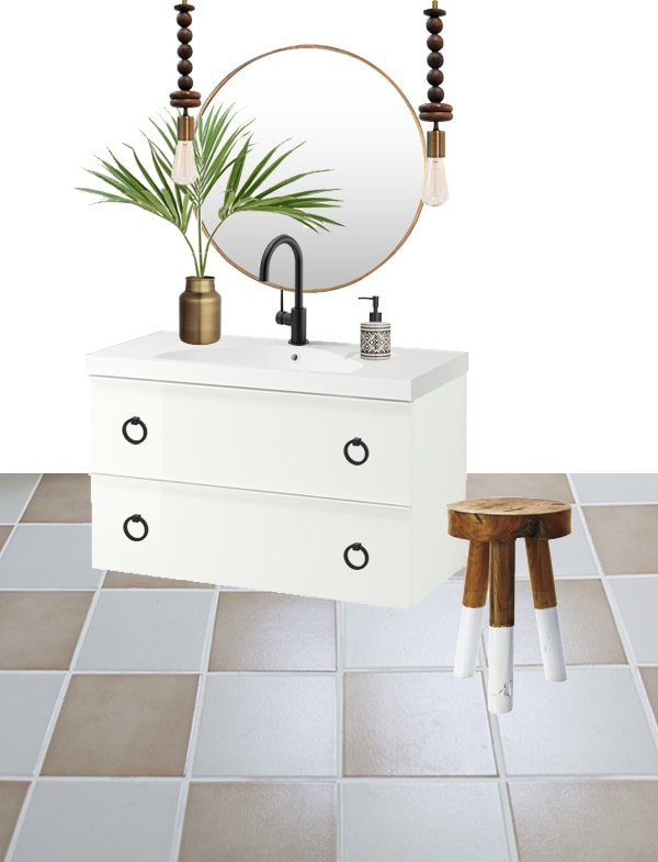 IKEA godmorgon odensvik bathroom decor idea - Cuckoo4Design