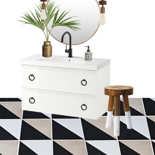 IKEA Godmorgon Odensvik bathroom decor idea - Cuckoo4Design